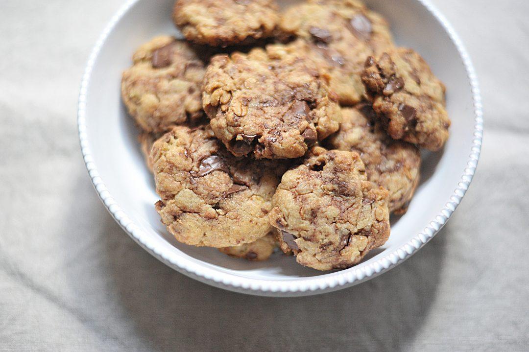Malyslon - Doux cookies aux flocons d'avoine